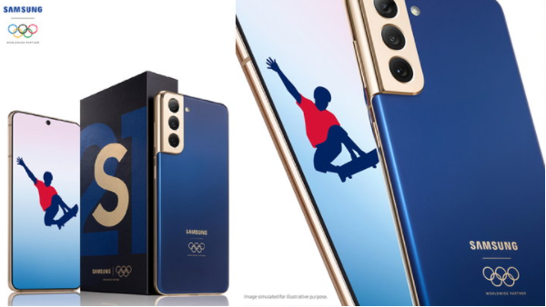 """Samsung is full! Donate a special edition """"S21 5G"""" smartphone to all """"Olympic-Paralympic"""" athletes"""
