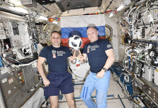 How do astronauts watch extraterrestrial football?