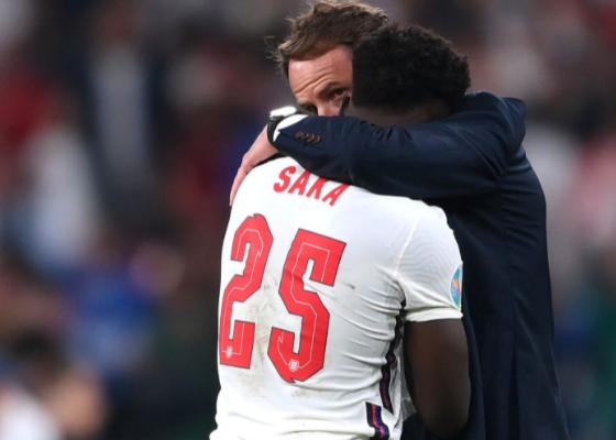 Southgate sent Saka to shoot a penalty