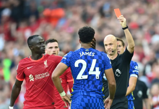 FA rules on why Reece James was red carded
